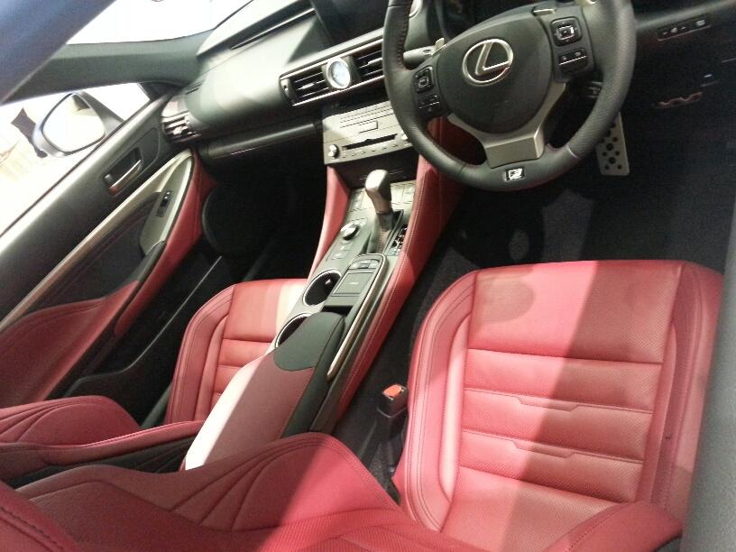 RCの赤いシート