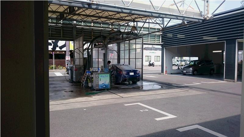 RCFを洗車